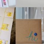 Sewing on Paper Crafts