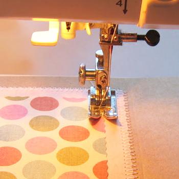 Paper Crafts using a Sewing Machine