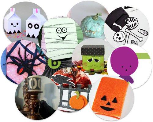 Halloween Party Ideas: 12 Halloween Paper Crafts