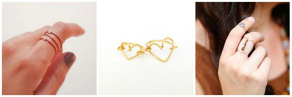 Delicate DIY Jewelry: Rings