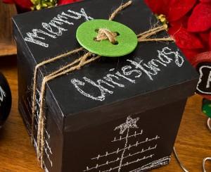 Chalkboard Paint Gift Box