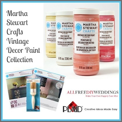 Martha Stewart Crafts Vintage Decor Paint Collection