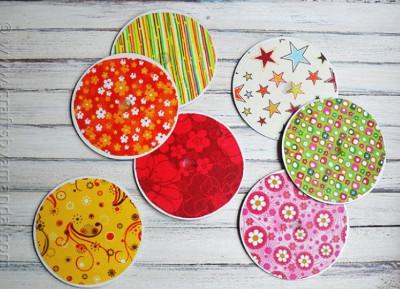 Upcycled Coasters