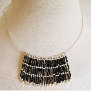 DIY Jewelry Project: Jazz Age Torque Necklace