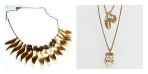 Harvested Gold Fall DIY Jewelry