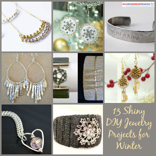 Metals That Matter: 13 Shiny DIY Projects for Winter