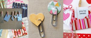 Clip It Up Paper Clips and Clothespins Collage
