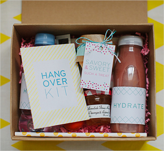 The Easy, Breezy DIY Wedding Gifts Guide