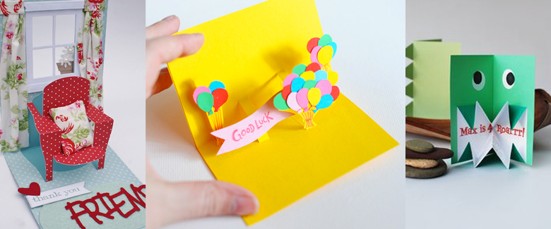 20 Pop Up Card Ideas Craft Paper Scissors