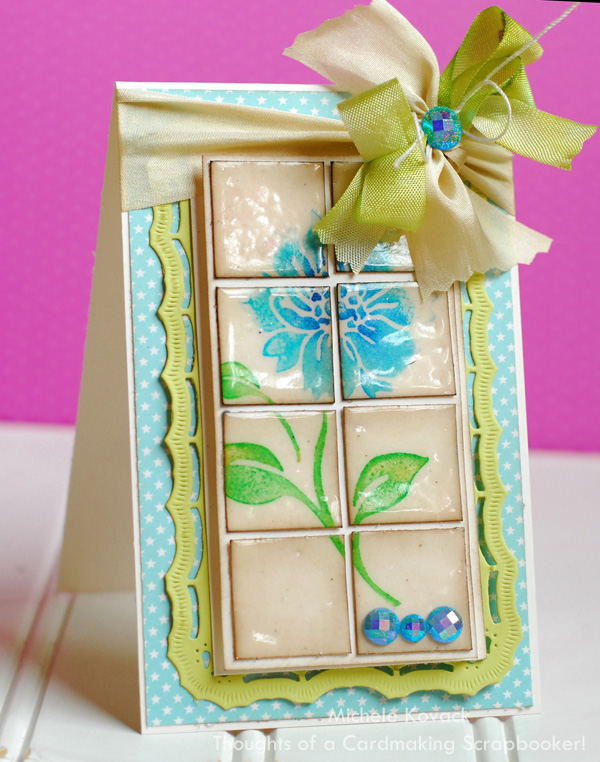 Elegant Tiled Greeting Card