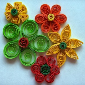 Quilled Paper Flowers