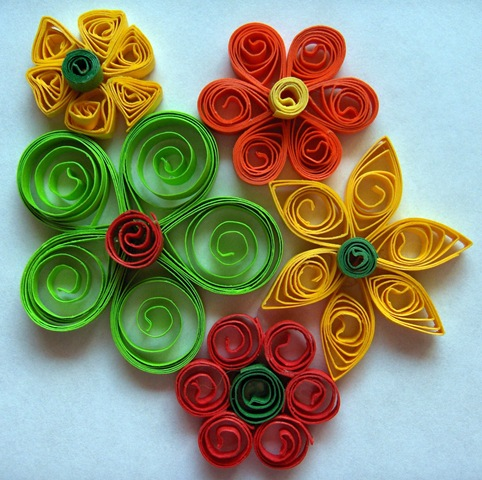 How To Make Handmade Paper Crafts Gallery Coloring Pages Flowers