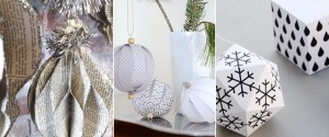 25 DIY Handcrafted Paper Holiday Ornaments