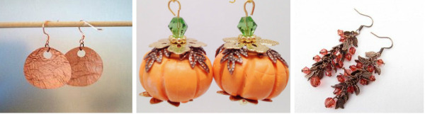 Thanksgiving DIY Jewelry Projects: Earrings
