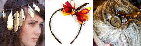 Thanksgiving DIY Jewelry Projects: Hair Accessories