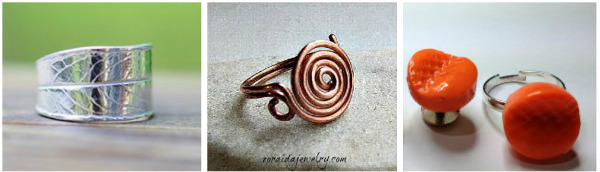 Thanksgiving DIY Jewelry Projects: Rings