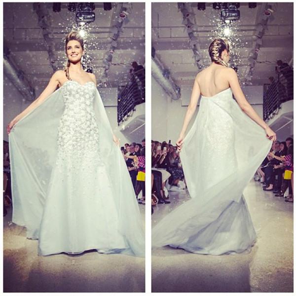 Elsa Disney Princess Wedding Dress