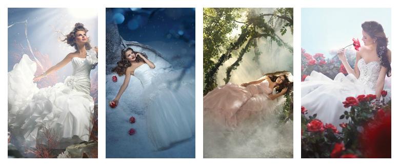 Some Dresses Are Worth Melting For: Disney Princess Wedding Inspiration
