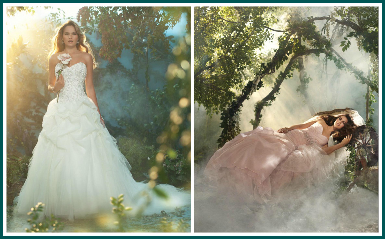 Aurora Disney Princess Wedding Dress