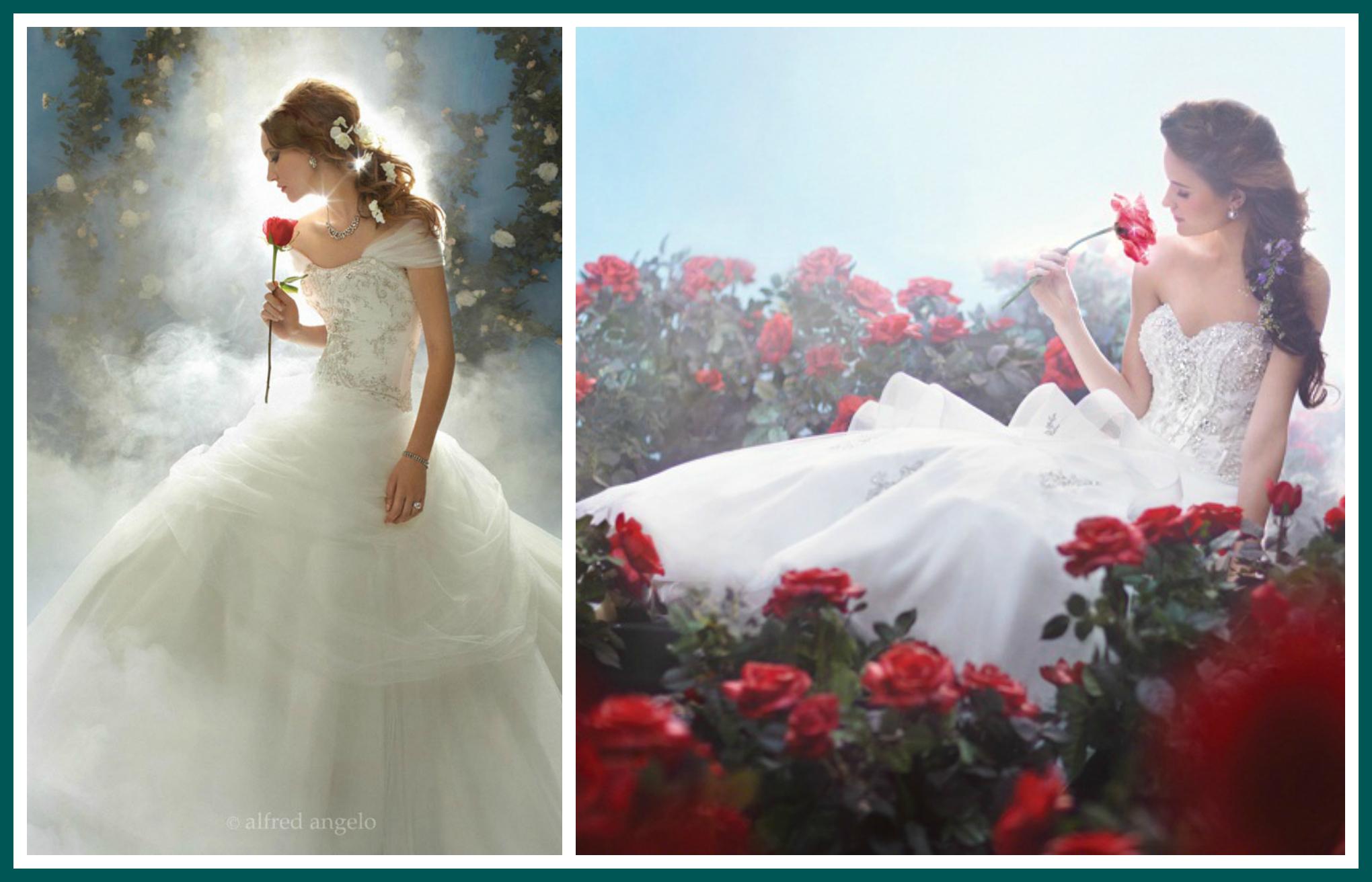 Belle Disney Princess Wedding Dress