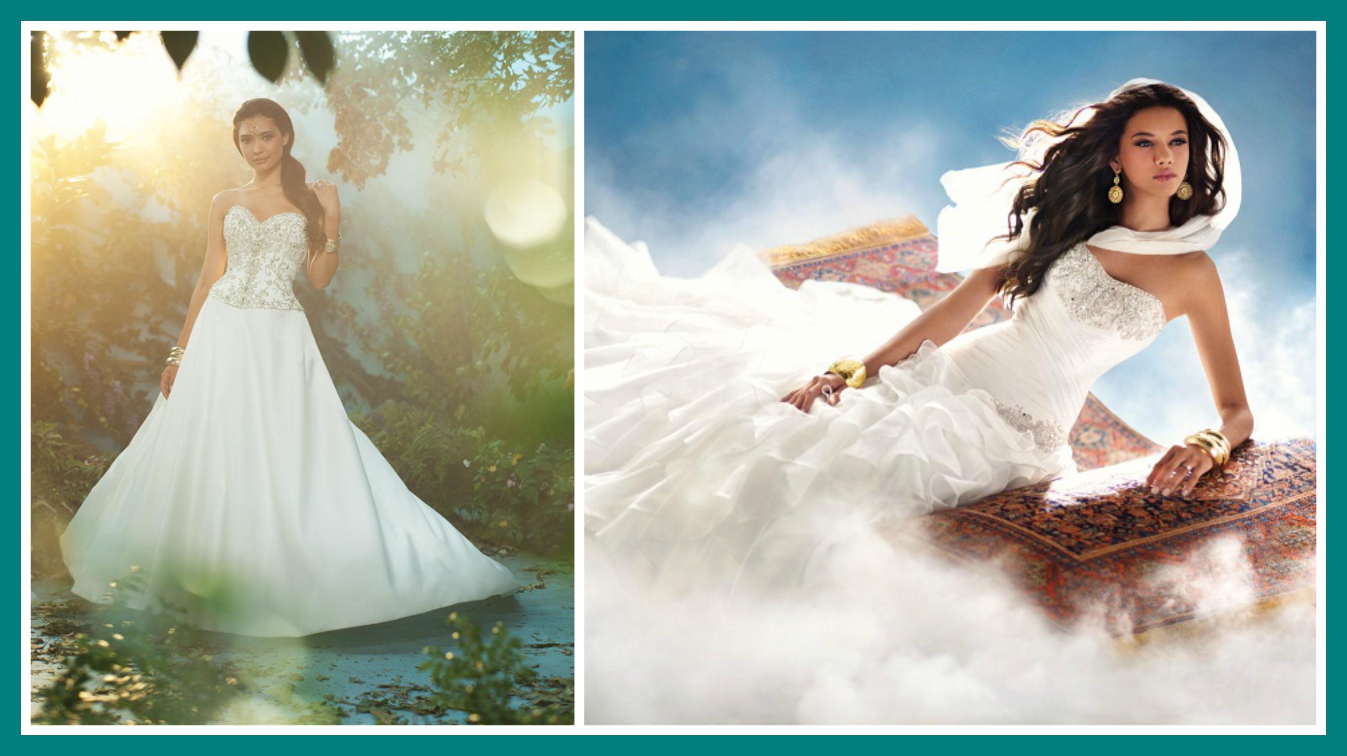 Jasmine Disney Princess Wedding Dress