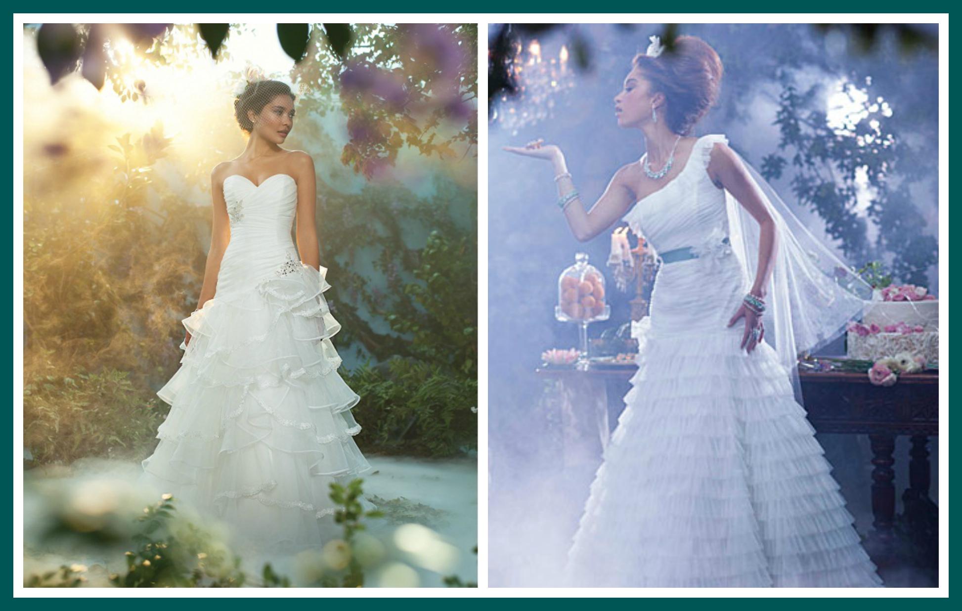 Tiana Disney Princess Wedding Dress