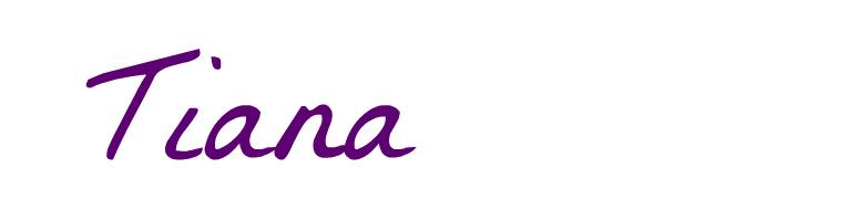 Tiana Header
