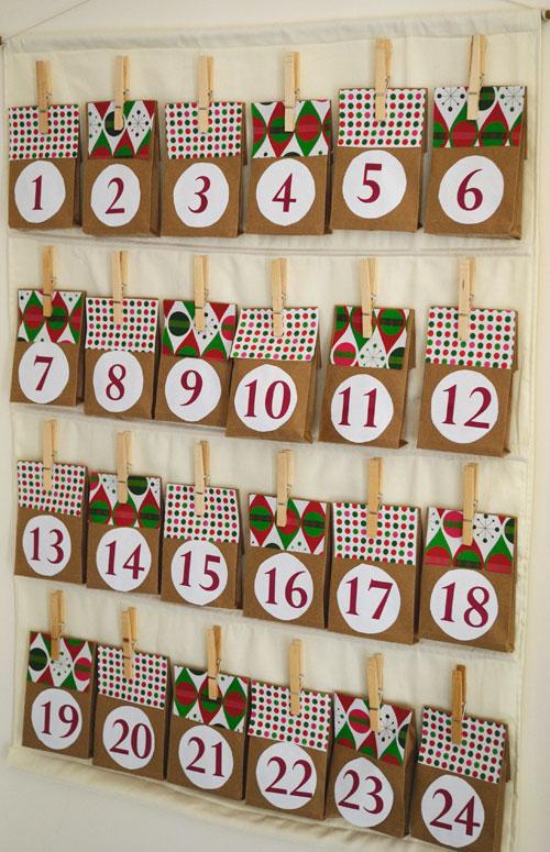 10 Homemade Advent Calendar Crafts For Christmas Family Fun