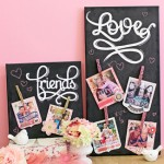 Chalkboard Inspired Paper Crafting