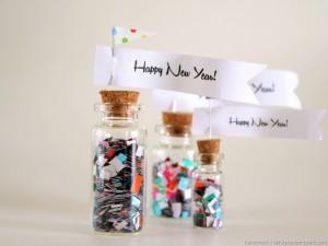 confetti bottle