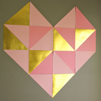 triangle papercraft pic