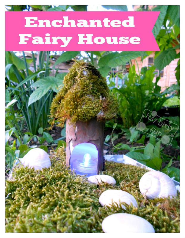 Toilet Paper Roll Fairy House