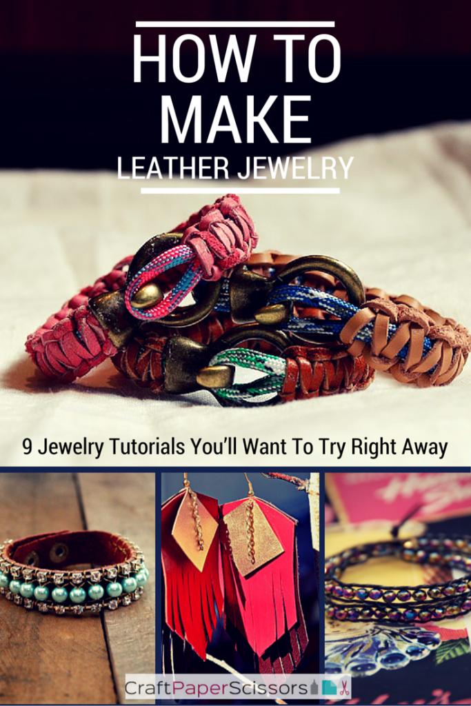 how-to-make-leather-jewelry-free-jewelry-tutorials