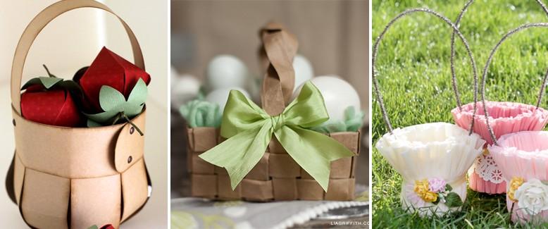 Easter Bunny Approved: 5 DIY Paper Easter Baskets