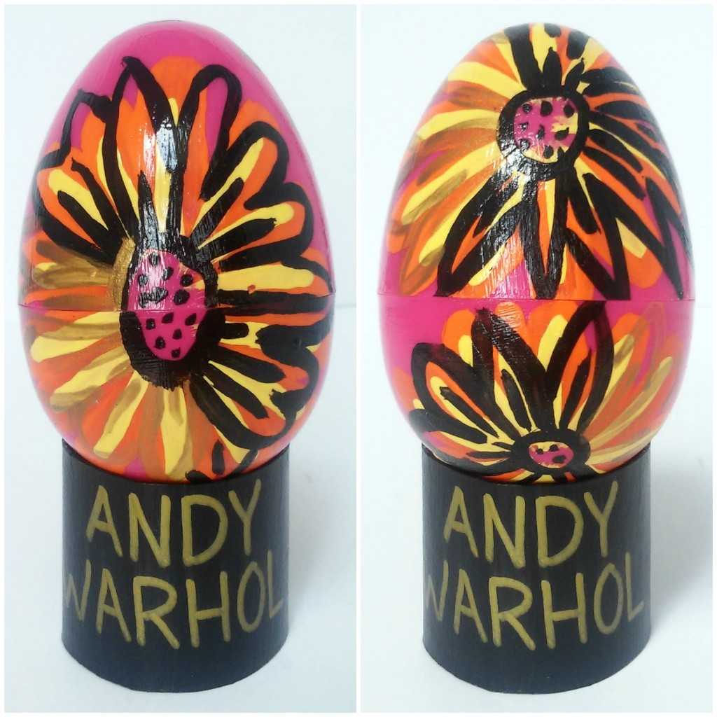 Contemporary Art Easter Eggs ANDY WARHOL  3