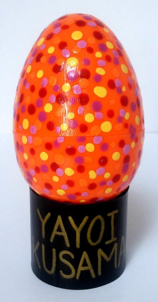 Contemporary Art Easter Eggs YAYOI KUSAMA 1