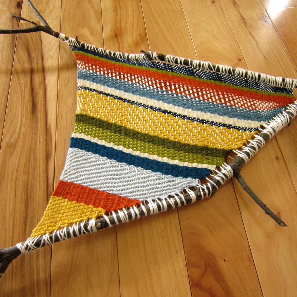 Branch Weaving via Instructables