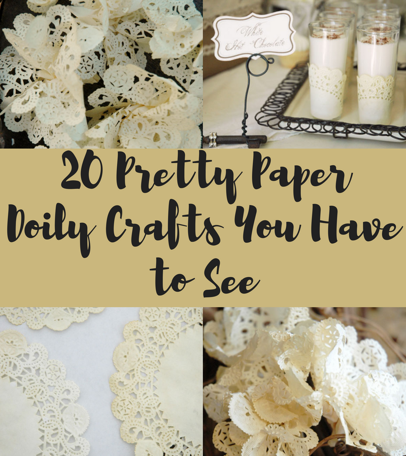 20 Pretty Paper Doily Crafts You Have to See - Craft Paper Scissors