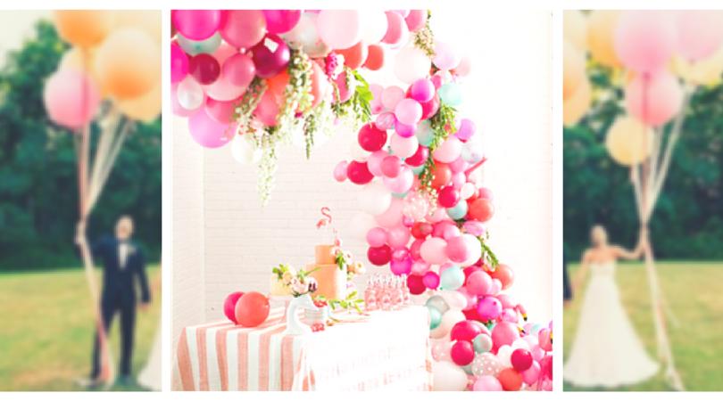 Trending Wedding Balloon Decoration Ideas Craft Paper