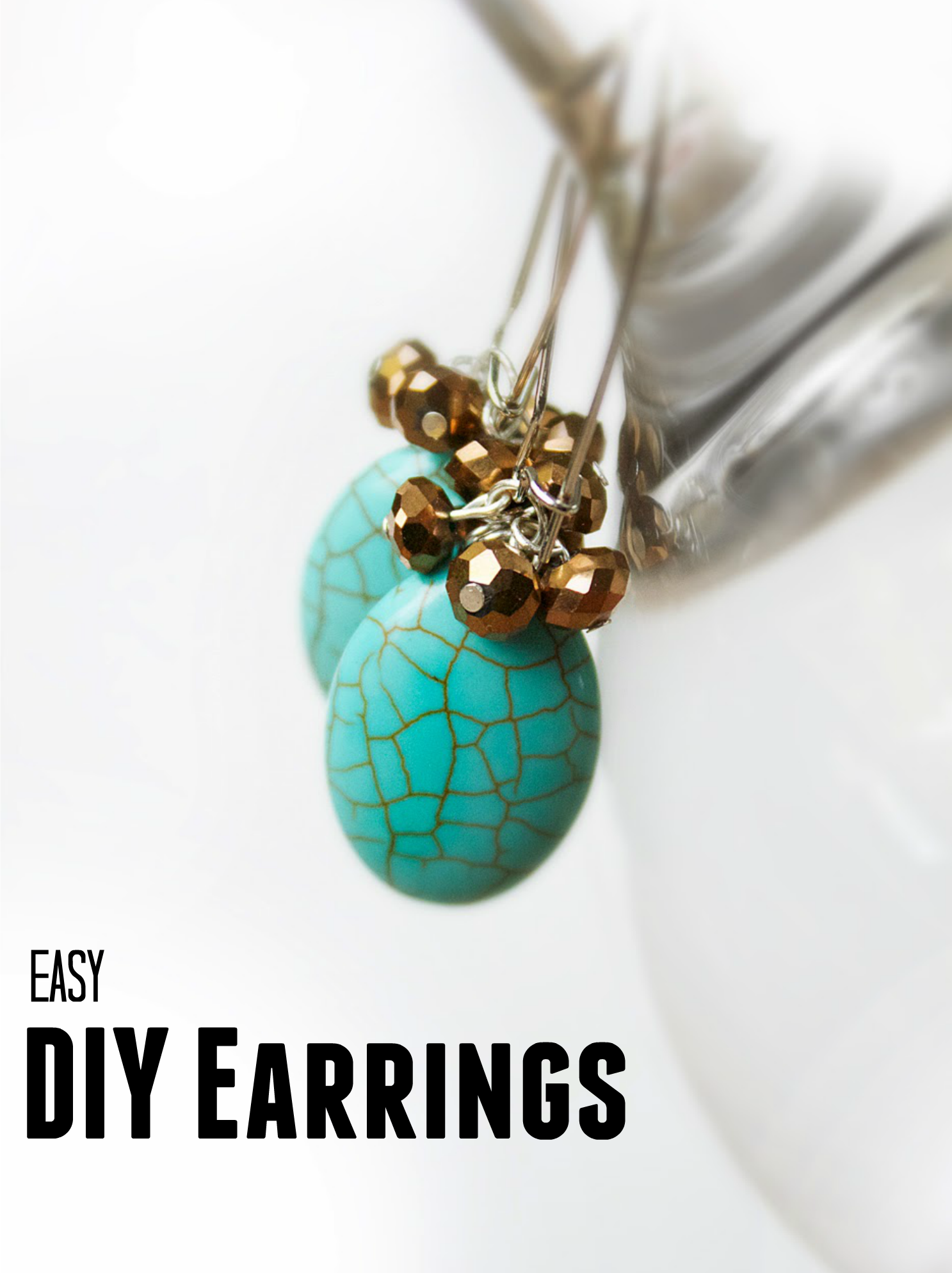 15 easy diy earrings craft paper scissors