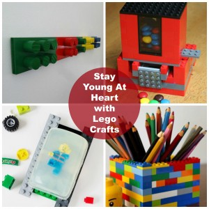 Stay Young At Heart with Lego Crafts