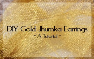 gold jimki earrings