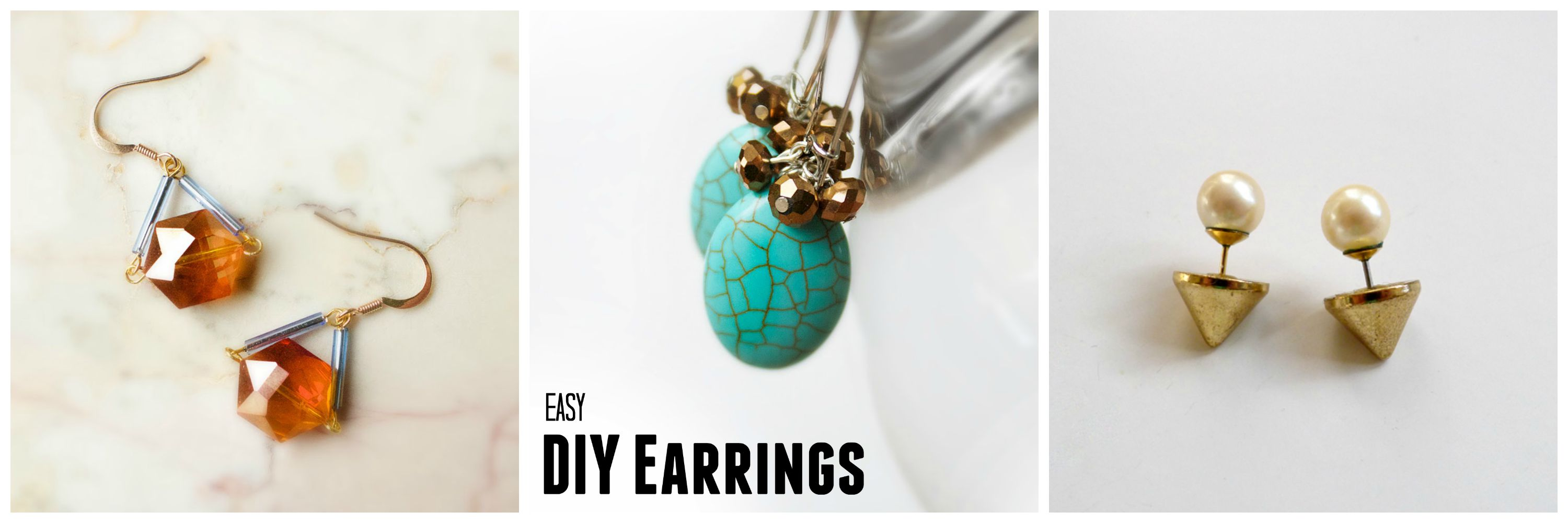 earpiece diy ideas fashionsy fancy com pearl earrings