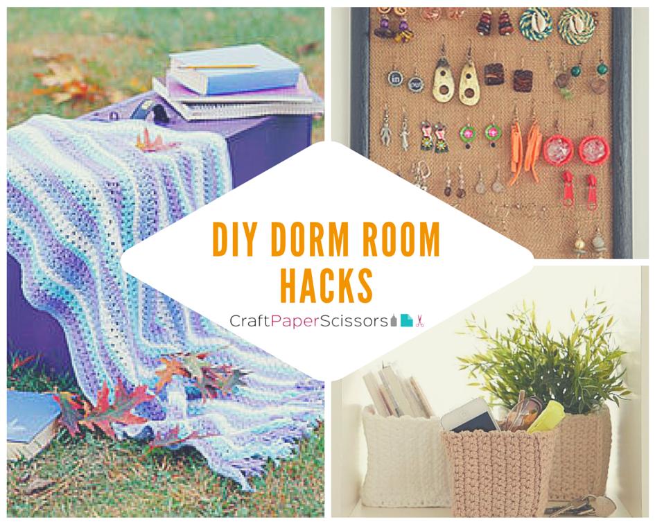 Dorm Room Hacks: 14 DIY Dorm Room Ideas