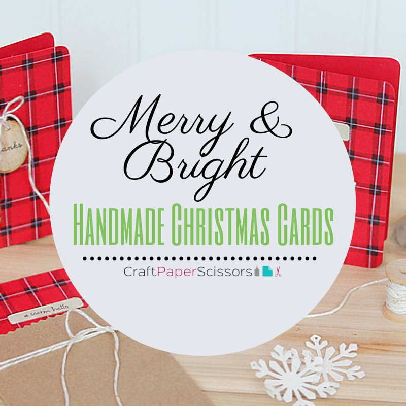 Merry & Bright Handmade Christmas Cards