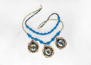 Venetian Nights Filigree necklace diy