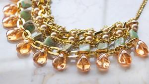 Sahara beaded statement necklace tutorial