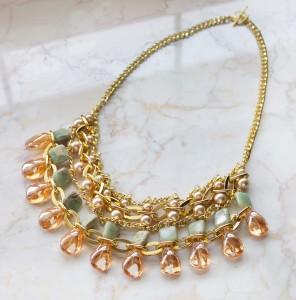 Sahara beaded statement necklace diy