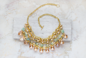 sahara beaded necklace diy