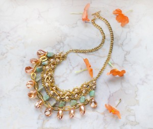 sahara beaded necklace diy